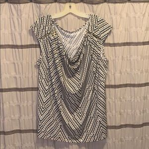 Lane Bryant  sleeveless dressy top/blouse